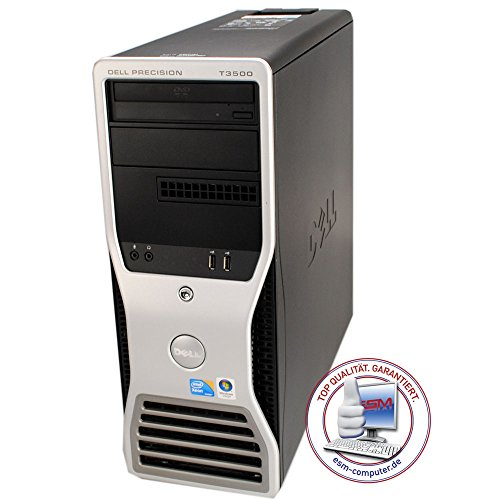 Workstation Dell Precision T3500 Quadcore Intel Xeon W3550, 3,06 GHz 4 GB de RAM, Nvidia Quadro FX 1800 250 GB SATA DVD unidad de Windows 7 Pro