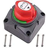 LotFancy Interruptor Aislador de Batería 4 en 1 Interruptor de Desconexión para Vehícul...
