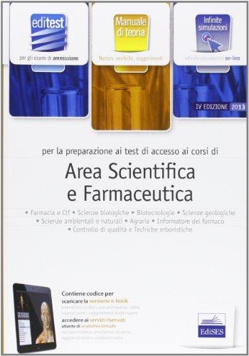 EdiTEST 3. Teoria-Farmacia, area scientifica per la preparazione ai test di ammissione. Con software di simulazione