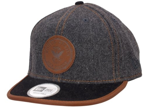 New era DTA Snapback Crest Black/Brown - One-Size