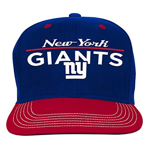138d24fa711 NFL Youth Boys Retro Bar Script Flatbrim Snapback Hat