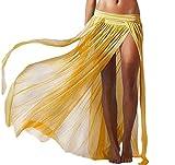 Inception Pro Infinite Gonna Pareo - Copri Costume - Adatto a Adulti Donna & Ragazza - Lungo - Colore Giallo