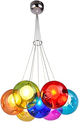 Turkish Mosaic Lamp Unique Colored Glass Crystal Chandelier Christmas Decor Cheap Chihuly Style Hand Blown Glass Modern Chandelier Lighting Lights For