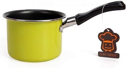 CPWJD Saucepan,stockpot,Non-stick Pan,Milk Warmer Pot,Pouring Saucepan, Classic Stainless Saucepan With Cover, High Qualit...