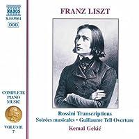 Liszt: Complete Piano Music 7 -- Rossini Transcriptions (1998-06-02)