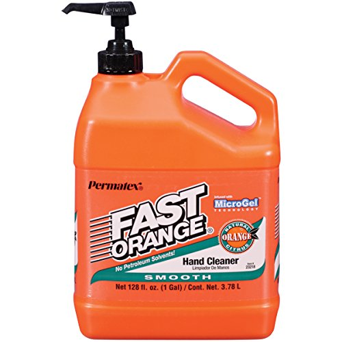 Permatex 23218 Fast Orange Smooth Lotion Hand Cleaner with...