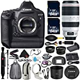 Canon 6Ave EOS-1D X DSLR Camera International Version (No Warranty) EF 100-400mm L is II USM Lens + Battery Grip + LP-E6N Replacement Lithium Ion Battery Bundle