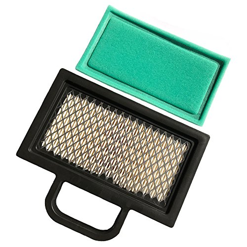 HEYZLASS 499486S 698754 Air Filter, for Briggs Stratton 499486 Lawn Mower Air Filter Cartridge, Fit B&S 18-26 HP Intek V-Twins Engine Air Cleaner