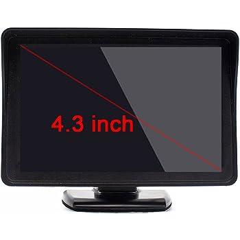 VCD, 5-Zoll-Digital-Farb-TFT-LCD-Monitor Mit 2 Video-Eingang Für Auto DVD