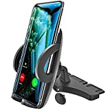 woleyi Phone Holder for Car CD Slot, Universal CD Slot Phone Mount for iPhone 11 Pro Max/11/XS Max/XS/XR/X/8 Plus/8/7 Plus/7/6S/SE, Samsung, Huawei, Nokia, LG, HTC and Other 3.5-6.8' Cell Phone