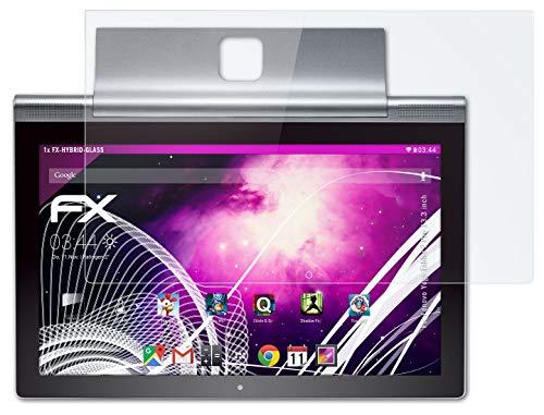 atFolix Glasfolie kompatibel mit Lenovo Yoga Tablet 2 Pro 13.3 inch Panzerfolie, 9H Hybrid-Glass FX Schutzpanzer Folie