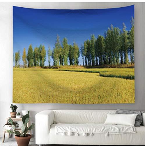 Zbzmm Hoofddecoratie-mandala bloem bedrukt mandala strandlaken wooncultuur wandbehang tapijten sprei tafelkleed yoga matten woonhuis decoratie gordijn_200x150cm