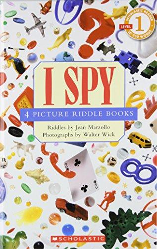 I Spy: 4 Picture Riddle Booksの詳細を見る