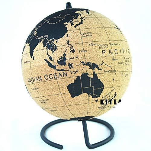 Globo Terráqueo Cork Globe World Map El Mejor Regalo De Navidad Para Decoración De Escritorio Con Todos Los Países Y Estados De América Suministros De Oficina