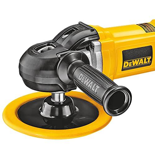 DEWALT Buffer/Polisher, Variable Speed, Soft Start, 7-Inch/9-Inch (DWP849X)