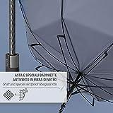 Zoom IMG-2 ombrello blu golf classico uomo