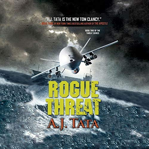 Rogue Threat Audiobook By A. J. Tata cover art