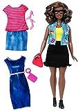 Barbie Muñeca Fashionista, Look Intelectual (Mattel DTF02), Color Rosa/Azul...