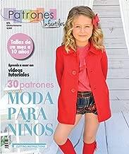 Revista patrones de costura infantil, nº 5. Moda Otoño-Inviervo, 30 modelos de patrones con tutoriales en vídeo (youtube)
