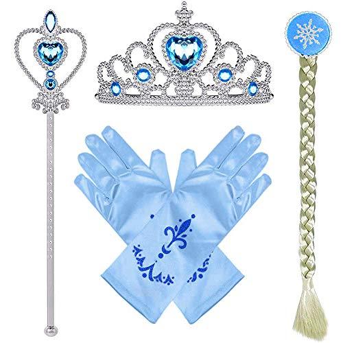 Conjunto Con Accesorios De Princesa  marca Lukovee