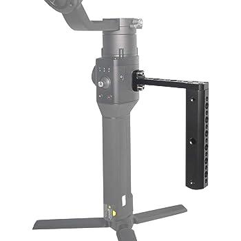 Pomya Handle Grip Extension Lightweight Top Handle Extension Rod Holder for DJI Ronin-S Stabilizer Gimbal