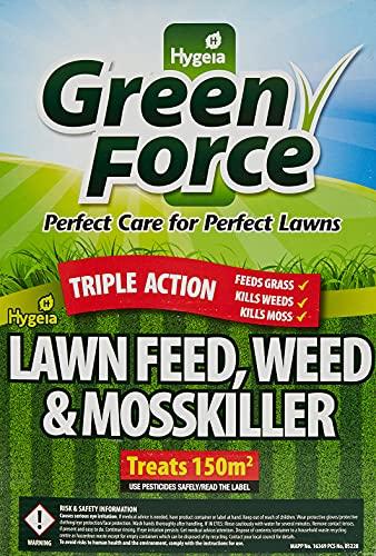 Greenforce P21028A Fertilizer Weed Moss Killer, Greens Lawn, Grey, 26.5 cm*16.0 cm*8.0 cm