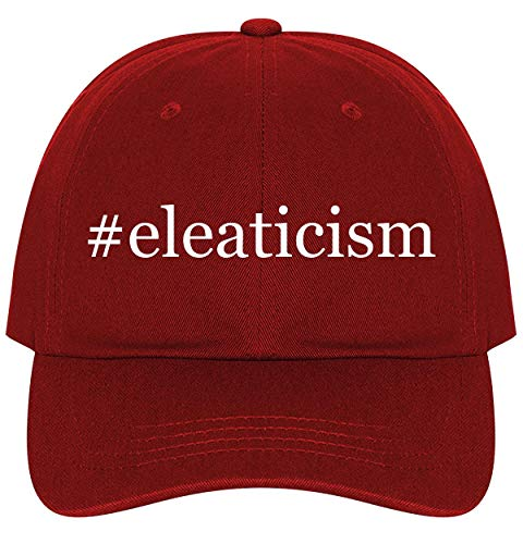 #Eleaticism - A Nice Comfortable Adjustable Hashtag Dad Hat Cap, Red, One Size