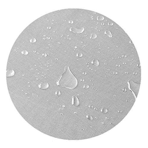DecoHomeTextil Transparente Folie Tischdeke LFGB RUND OVAL Dicke & Größe wählbar Rund 150 cm 0,2 mm abwaschbar Tischdecke Lebensmittelecht