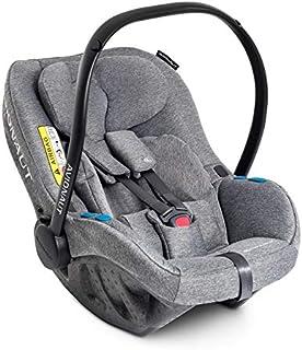 Silla de seguridad infantil Avionaut Pixel | la silla de seguridad infantil más ligera del mundo | grupo 0+ (0-13kg, 40cm-86cm) | para bebés de 0 a 12 meses | Gris Melange
