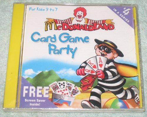 Mcdonaldland - Card Game Party - (Rare)