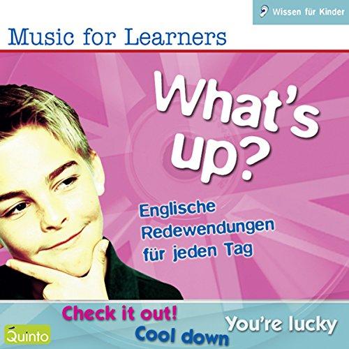 What's Up? Englische Redewendungen für jeden Tag Titelbild
