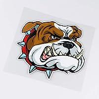 XLYDF 15x13.6cm犬のhesd面白い漫画バンパー装飾車のステッカーデカール