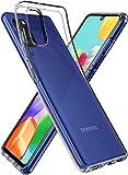 Spigen Liquid Crystal Kompatibel mit Samsung Galaxy A41 Hülle, Transparent TPU Silikon Handyhülle Durchsichtige Schutzhülle Case Crystal Clear ACS00876