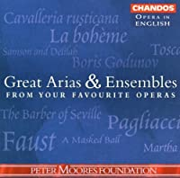 Great Arias & Hlts From Your Favorite Operas I by VARIOUS ARTISTS