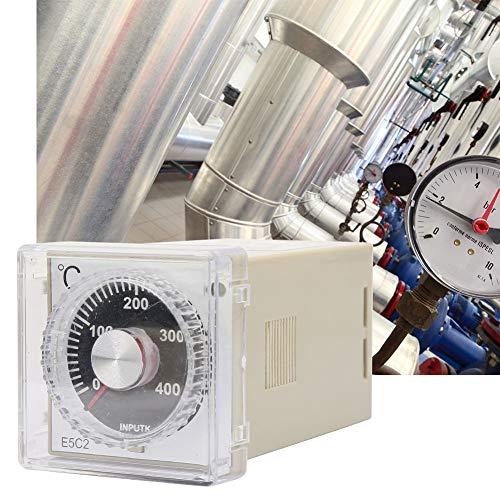 Controlador de temperatura, controlador de temperatura digital ligero K-Tipo de plástico Hecho 45 * 45mm