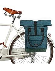 TOURBON Roll-Top bagagedrager rugzak fietstas bagagedrager fietstas