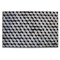 リビング用品牛革革手作りリビングルームコーヒーテーブルベッドルームソファオフィスカーペット(サイズ:160cm× 230cm)