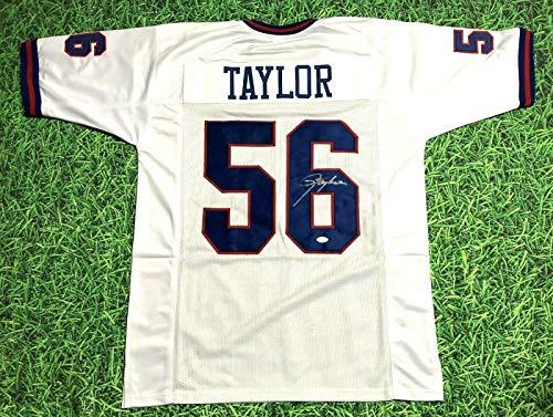 Lawrence Taylor Autographed New York Giants W Jersey Lt Jsa - Autographed NFL Jerseys