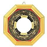 Chino Tradicional Feng Shui Ba Gua Espejo Pakua para Protección Brinda Buena Suerte en Los Negocios 13.5cm/5.3in(Cóncavo)
