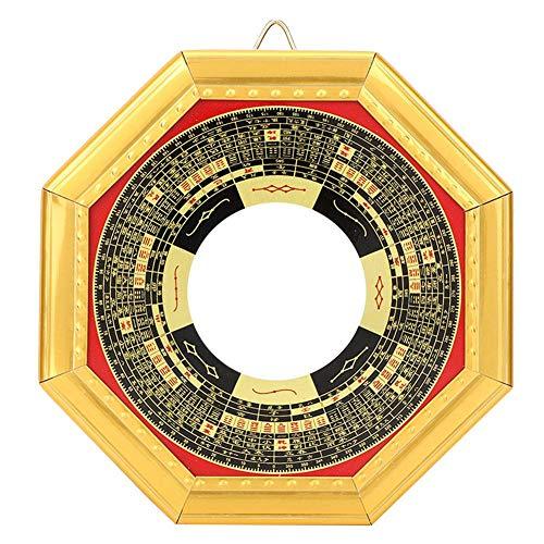 Glücklicher chinesischer FengShui Einbuchtung konvexer Bagua-Spiegel-Taoist-Talisman für Inneneinrichtung-Geschäfts-Verzierung(Konkav)