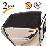 Uarter Universal Car Rear Side Window Baby Kid Pet Breathable Sun Shade Mesh...