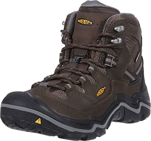 KEEN Men's Durand Mid Wp-m Backpacking Boot, Cascade Brown/Gargoyle, 11 M US