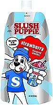 Slush Puppie Pouches-Strawberry Flavor-Fruit Flavored Ice Slushie Flavor Pops Frozen Treat Pouch-8 fl. oz. 12 Piece