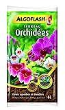 ALGOFLASH Terreau Orchidées, humidité optimale, 6 L, ATORCH6