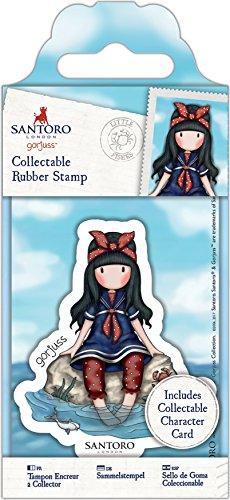 Docrafts Santoro's Gorjuss Rubber Stamp, Minions |