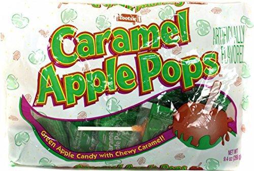 Tootsie Caramel Apple Pops 94oz Bag Pack of 3