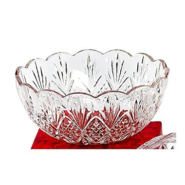 Godinger Crystal Dublin Serving Bowl