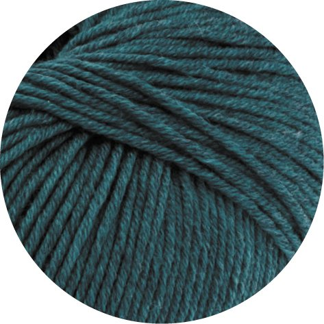 Lana Grossa Cool Wool Big Melange 307 - Petrol meliert
