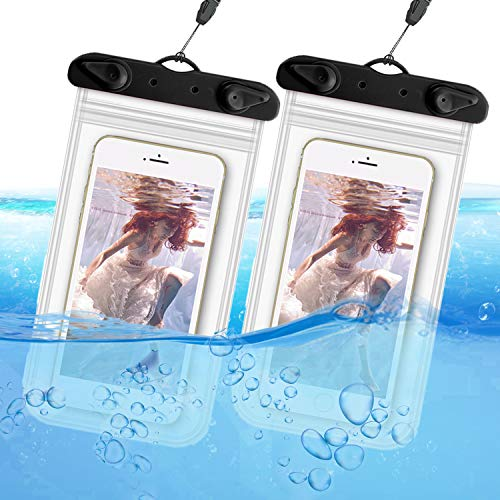 ORIbox Universal Waterproof Pouch Phone Dry Bag Underwater Case for iPhone 12 11 Pro Max XS Max XR X...