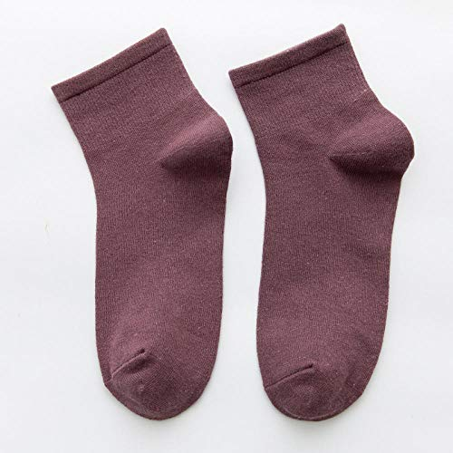 ROUNDER Calcetines de Calle Harajuku de Estilo a la Moda, Calcetines Blancos de algodón para Mujer, Calcetines Deportivos Coloridos para monopatín, Calcetines Largos para niña-Fucsia